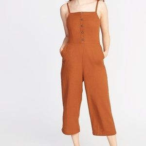 Old Navy Burnt Orange Jumpsuit